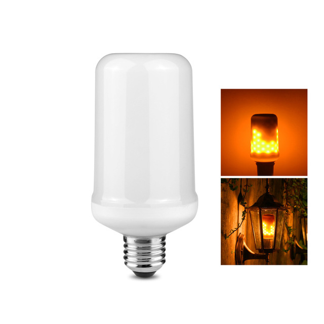 LED Fire Effect Light Bulb(large)